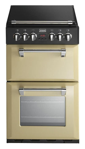 Stoves Richmond 550E Electric Ceramic Hob Double Oven Cooker Champagne
