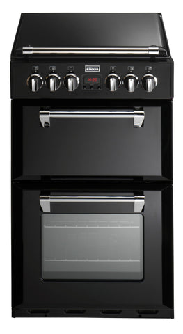 Stoves Richmond 550DFW Dual Fuel Double Oven Black