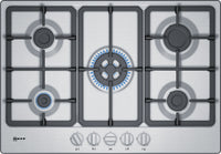 Neff N50 T27BB59N0 75cm Gas Hob - Stainless Steel