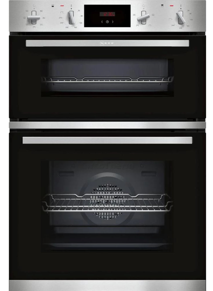 Neff N30 U1GCC0AN0B Built In Electric Double Oven - Stainless Steel