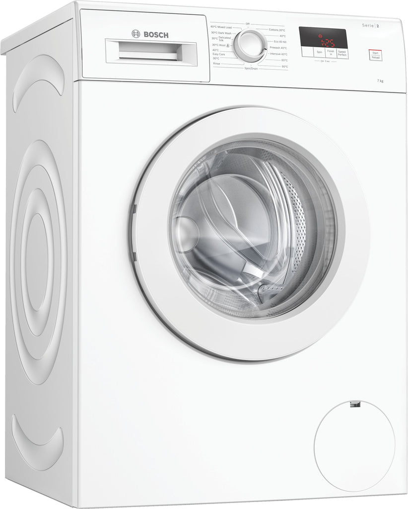 Bosch WAJ28008GB 7Kg Washing Machine with 1400 rpm - White - A+++ Rated