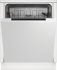 Zenith ZDWI600 Fully Integrated Standard Dishwasher - A+ Rated