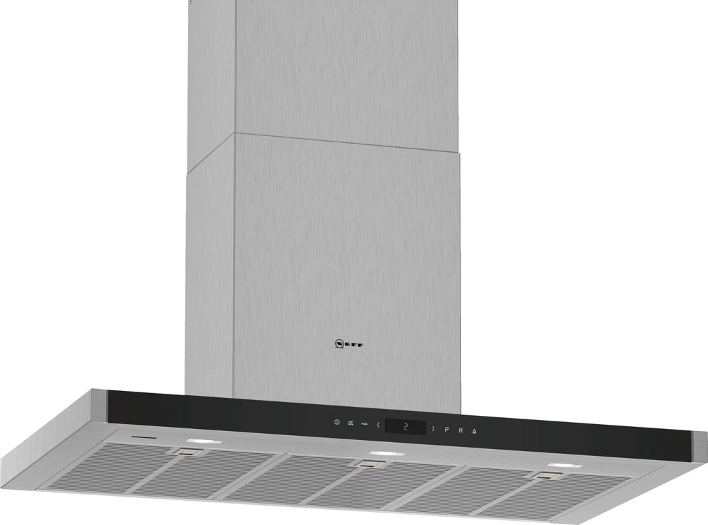 Neff N90 D96BMV5N5B Wifi Connected 90cm Chimney Hood - Stainless Steel