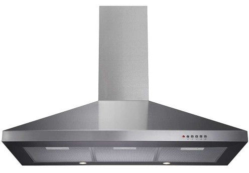 CDA ECH91SS 90cm Chimney Hood Stainless Steel - Moores Appliances Ltd.