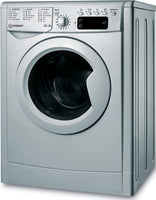 Indesit IWDD75145SUKN 7Kg / 5Kg Washer Dryer with 1400 rpm - Silver - F Rated