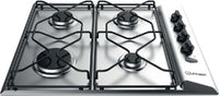 Indesit PAA642IXI 60cm Gas Hob - Stainless Steel