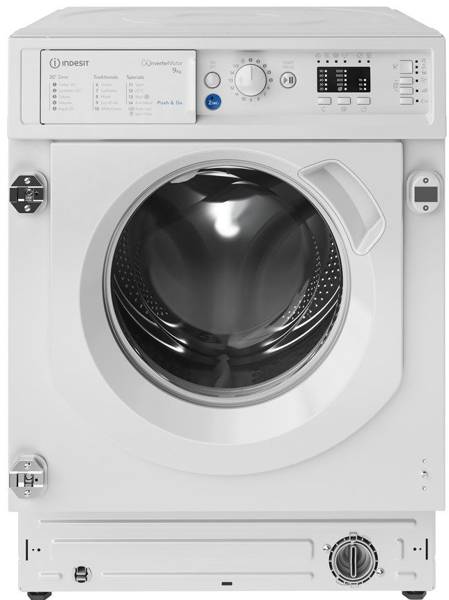 Indesit BIWMIL91484 9Kg Washing Machine with 1400 rpm - White - C Rated