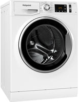 Hotpoint NM111044WCAUKN 10Kg Washing Machine with 1400rpm - White - A+++ Rated