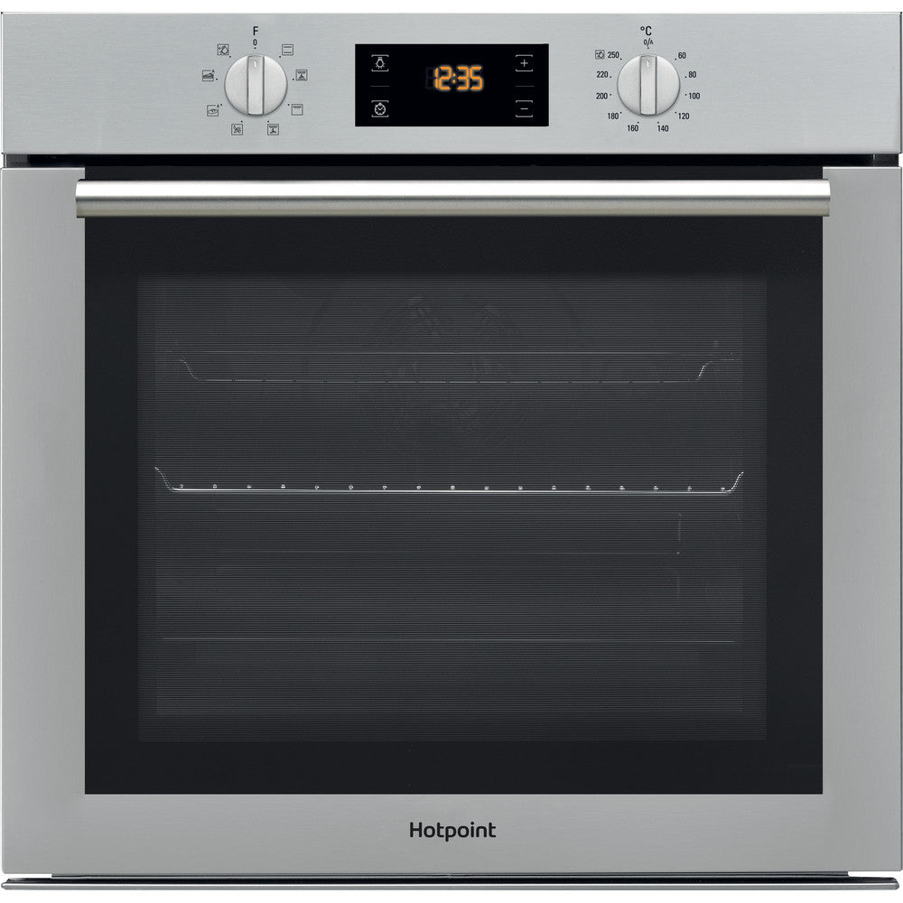 Hotpoint SA4544CIX Built In Electric Single Oven - Stainless Steel