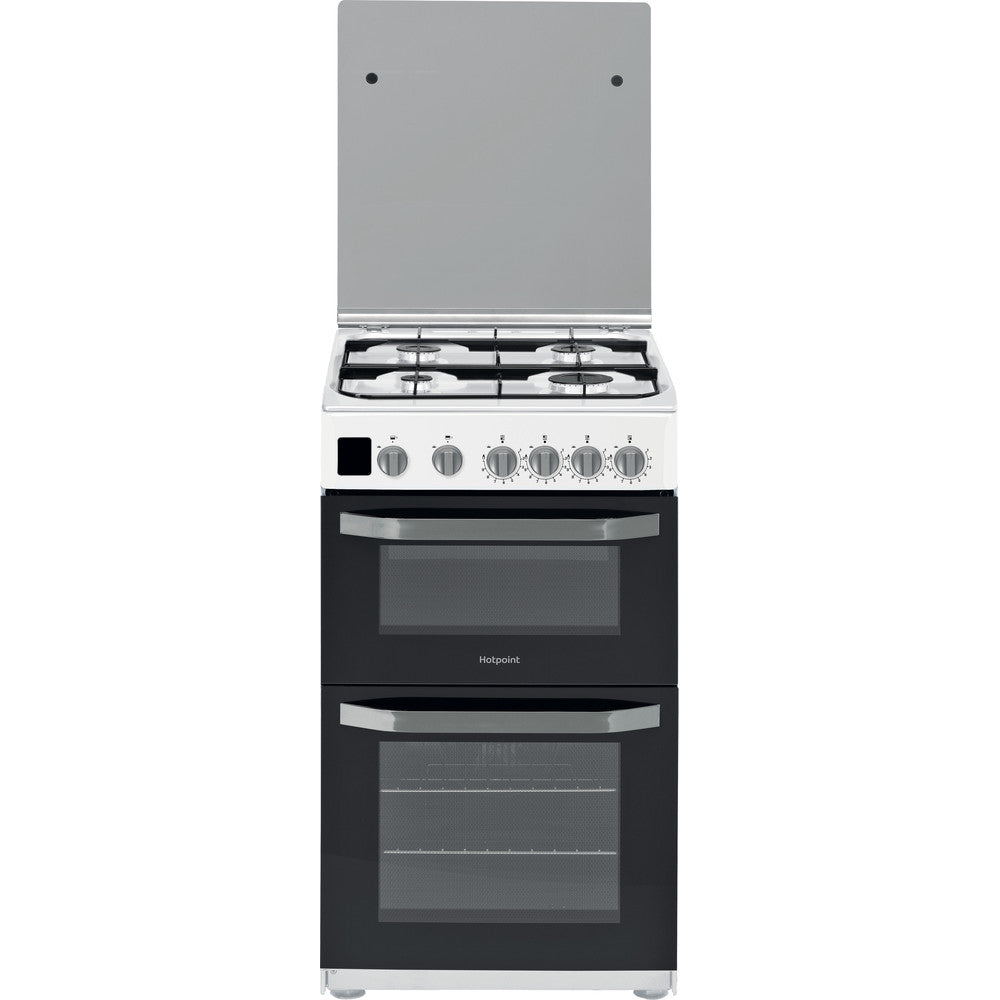 Hotpoint HD5G00CCW 50cm Gas Cooker - White