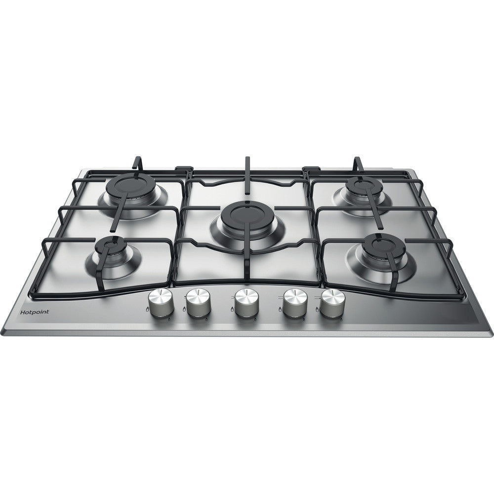 Hotpoint PCN752UIXH 73cm Gas Hob - Stainless Steel