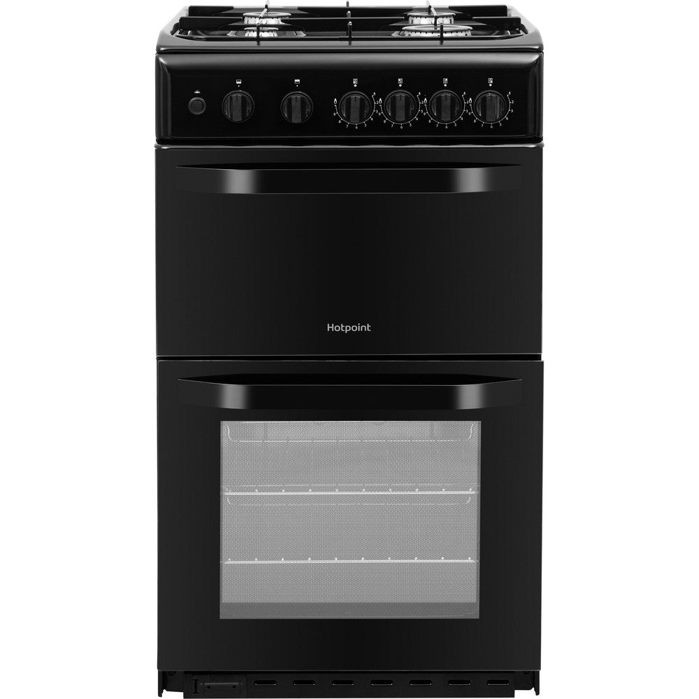 Hotpoint HD5G00KCB 50cm Gas Cooker - Black