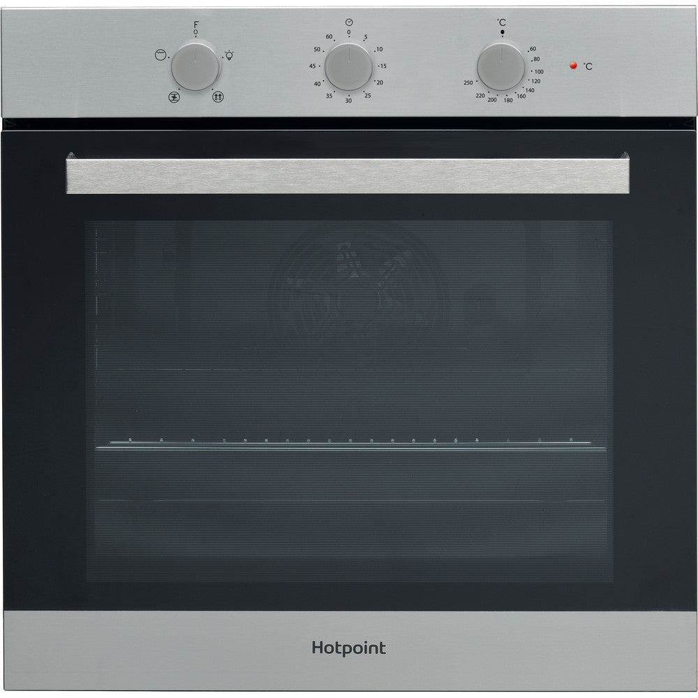 Hotpoint SA3330HIX Built In Electric Single Oven - Stainless Steel
