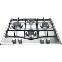Hotpoint PCN641IXH 59cm Gas Hob - Stainless Steel
