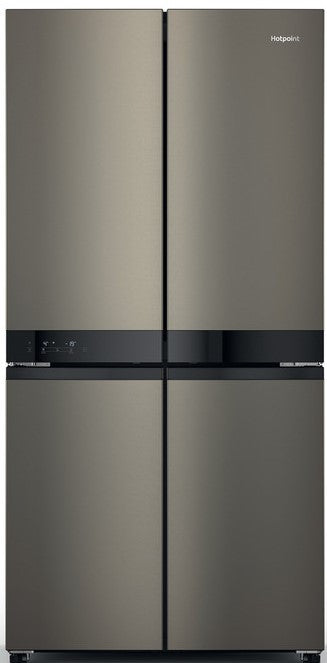 Hotpoint HQ9U1BL  Frost Free Fridge Freezer - Inox - A+ Rated