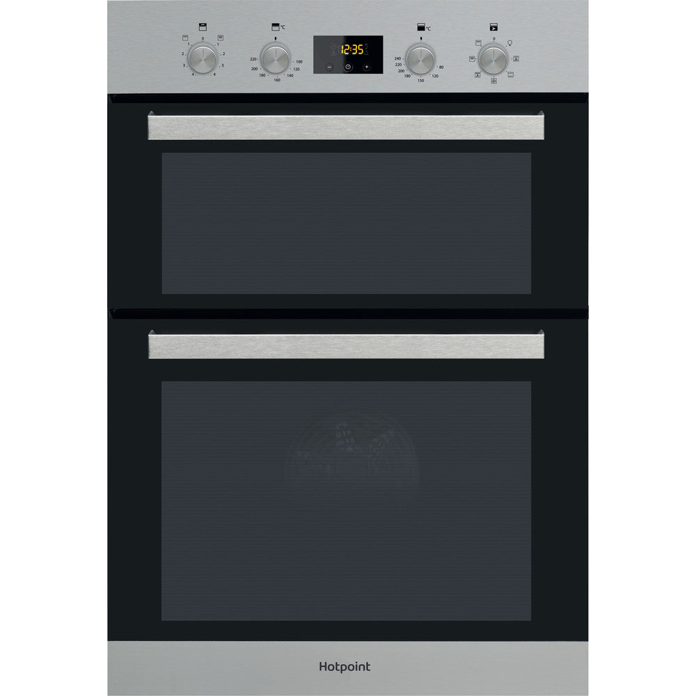 Hotpoint DKD3841IX  Electric Double Oven - Stainless Steel