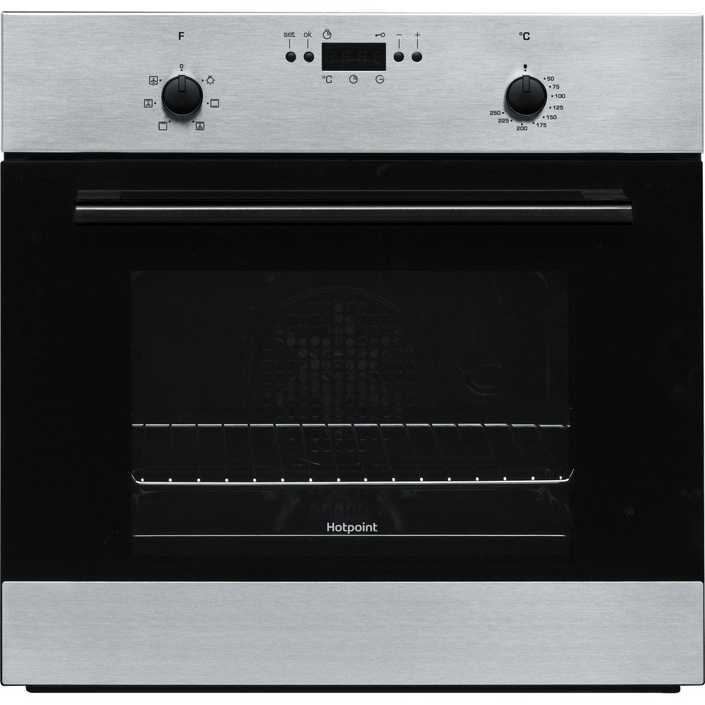 Hotpoint MMY50IX Built In Electric Single Oven - Inox