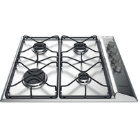 Hotpoint PAN642IXH 58cm Gas Hob - Stainless Steel