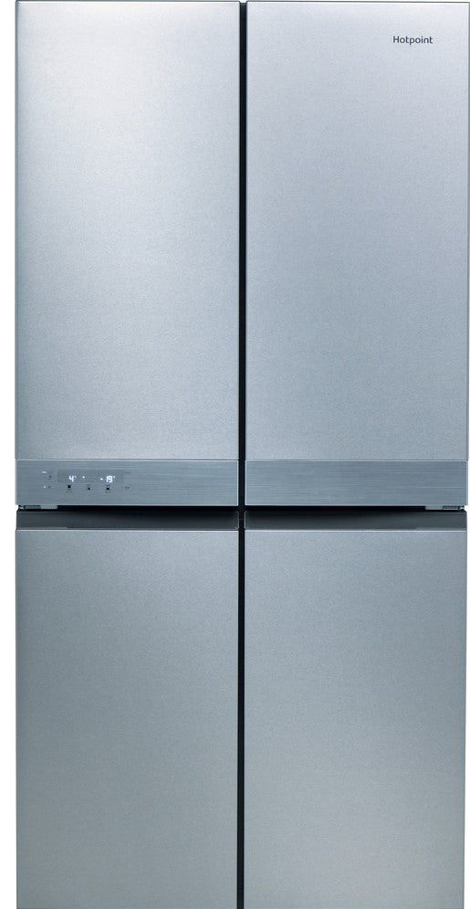 Hotpoint HQ9B1L1 90cm Frost Free Fridge Freezer - Inox - F Rated