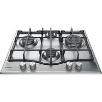 Hotpoint PCN641TIXH 59cm Gas Hob - Stainless Steel