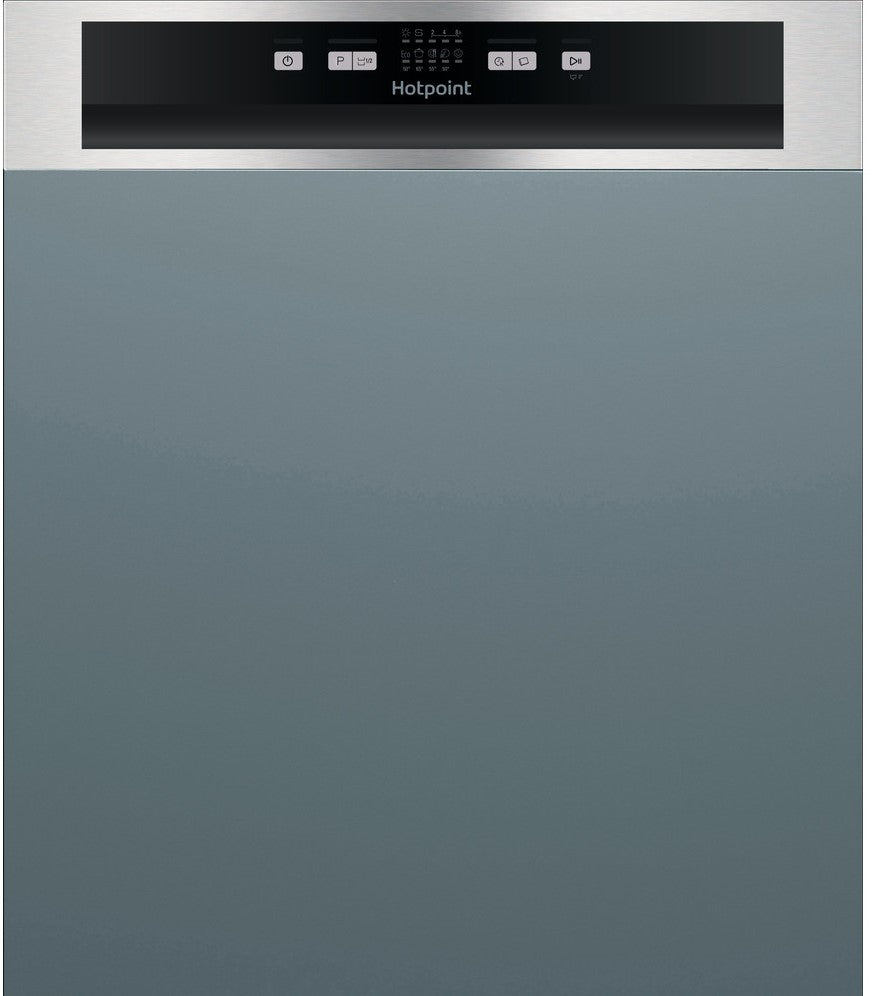 Hotpoint HBC2B19XUKN Semi Integrated Standard Dishwasher - A+ Rated