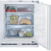 Hotpoint HZA1UK1 60cm Integrated Undercounter Freezer - Fixed Door Fixing Kit - White - A+ Rated