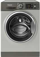 Hotpoint NM11945GCAUKN 9Kg Washing Machine with 1400 rpm - Graphite - A+++ Rated