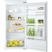 Hotpoint HS12A1D1 55cm Integrated Upright Larder Fridge - Sliding Door Fixing Kit - White - A+ Rated