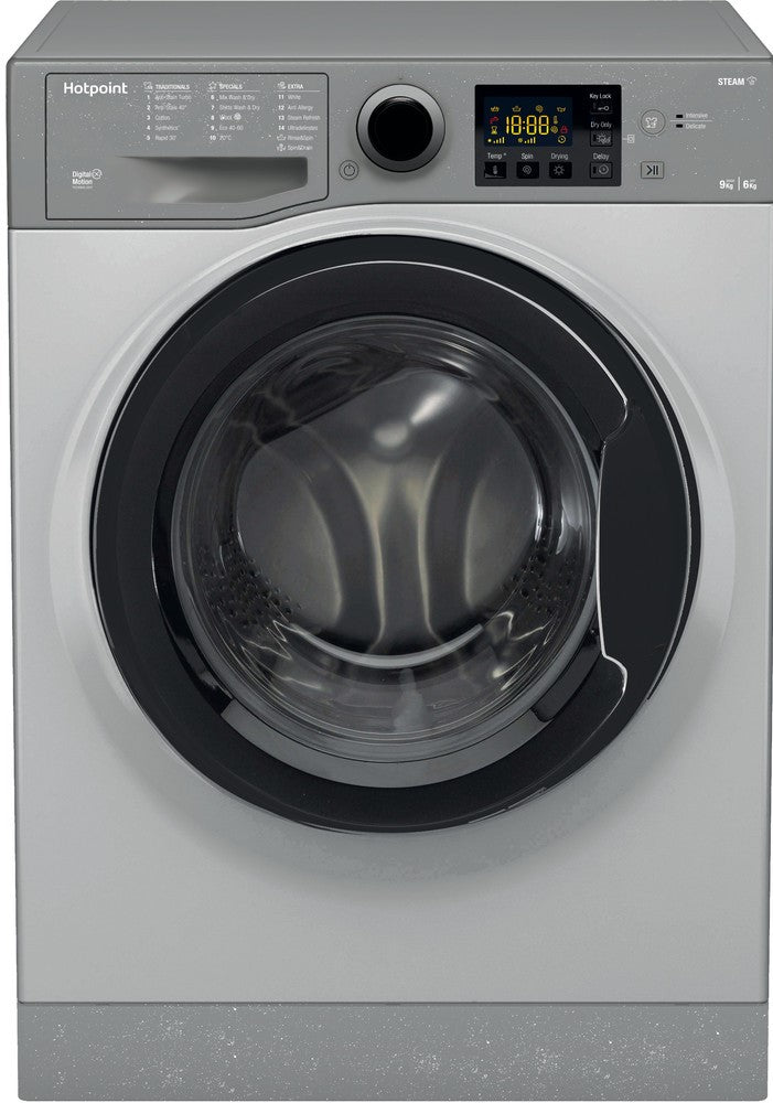 Hotpoint RDG9643GKUKN 9Kg / 6Kg Washer Dryer with 1400 rpm - Graphite - D Rated