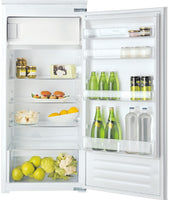 Hotpoint HSZ12A2D1 55cm Integrated Upright Fridge with Ice Box - Sliding Door Fixing Kit - White - A+ Rated