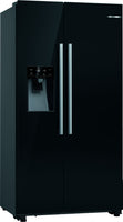 Bosch Serie 6 KAD93VBFPG American Fridge Freezer - Black - F Rated