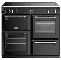 Stoves Richmond Deluxe S1000Ei 100cm Electric Range Cooker with Induction Hob - Black