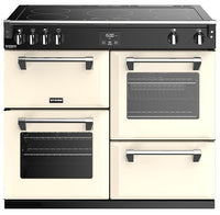 Stoves Richmond Deluxe S1000Ei 100cm Electric Range Cooker with Induction Hob - Classic Cream