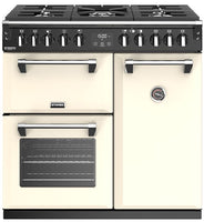 Stoves Richmond Deluxe S900DF 90cm Dual Fuel Range Cooker - Classic Cream