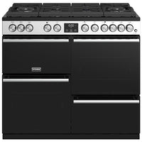 Stoves Precision Deluxe S1000DF GTG Dual Fuel Range Cooker - Stainless Steel