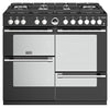 Stoves Sterling Deluxe S1000DF GTG 100cm Dual Fuel Range Cooker - Black