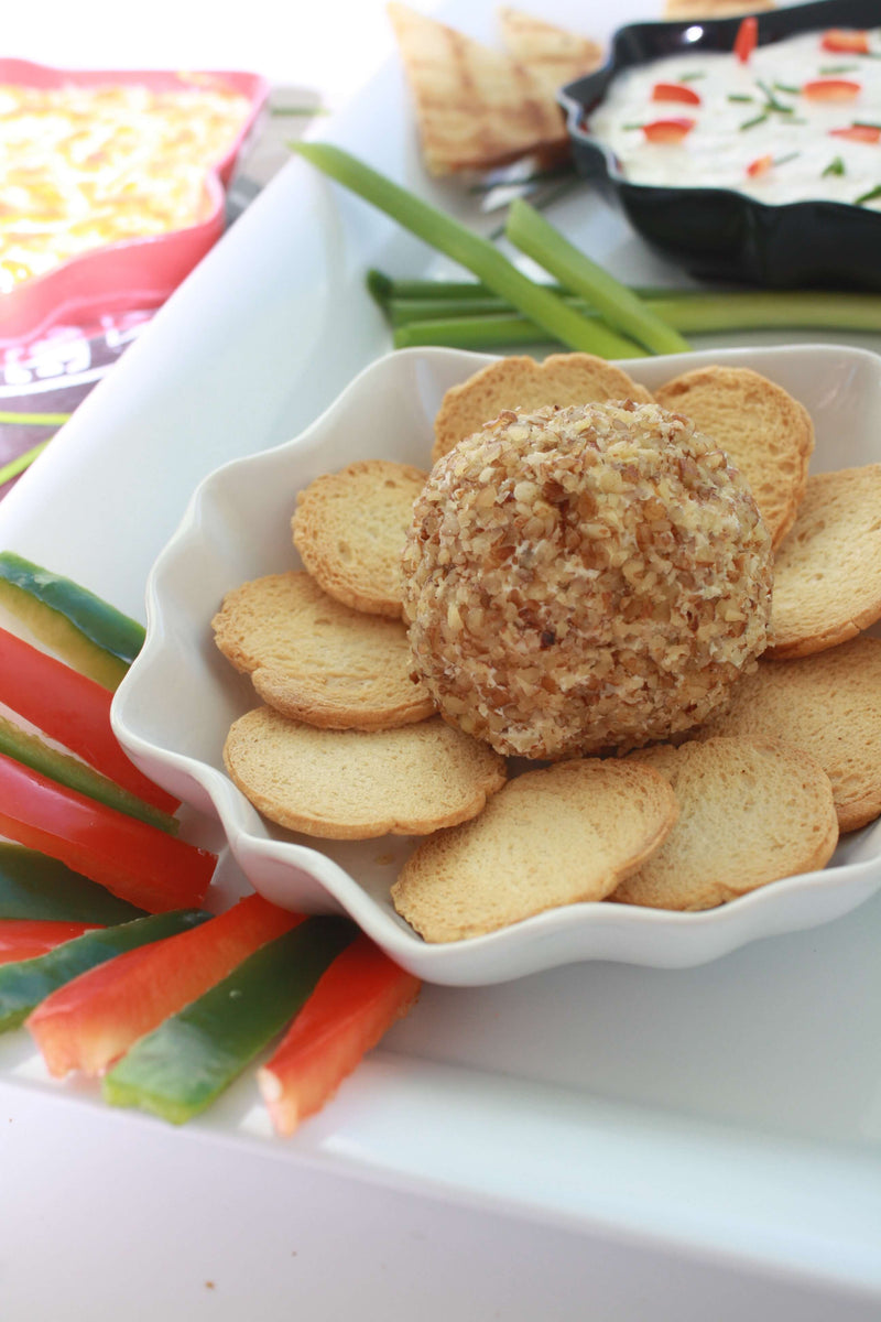 GIRLS NIGHT OUT HERB & GARLIC CHEESEBALL