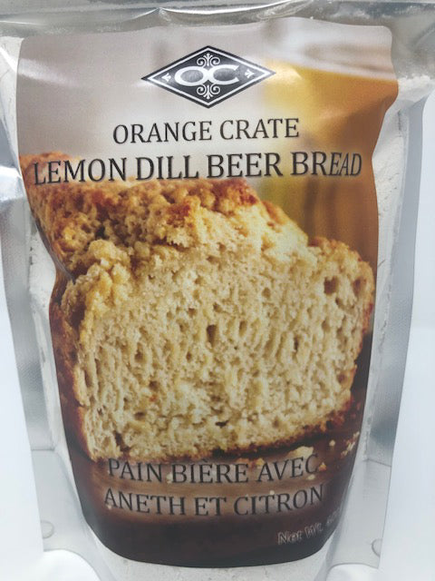 Beer Bread - Lemon Dill