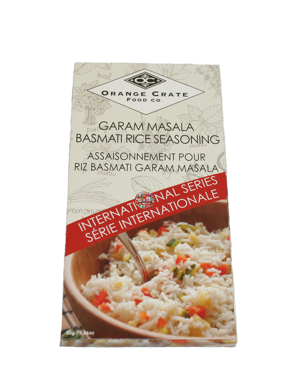 Garam Masala Basmati Rice Seasoning - International Series Collection