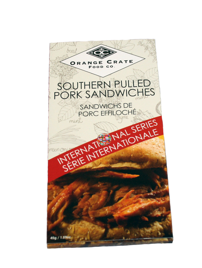Southern Pull Pork Sandwiches - International Series Collection