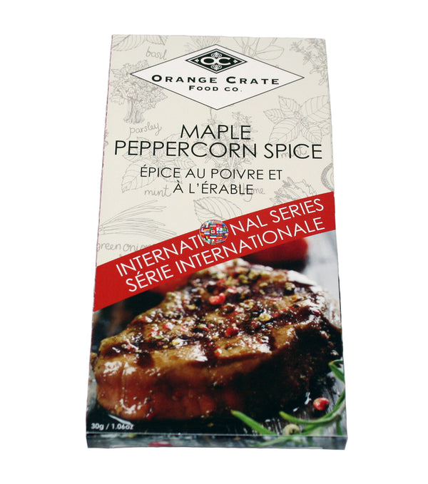 Maple Peppercorn Spice - International Series Collection