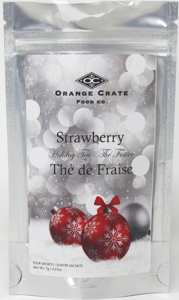 Strawberry Tea - Christmas Collection - Bagged Tea