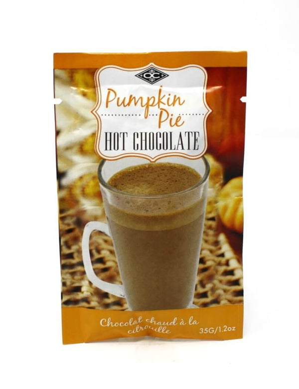 Single Serve Hot chocolate - Pumpkin Pie