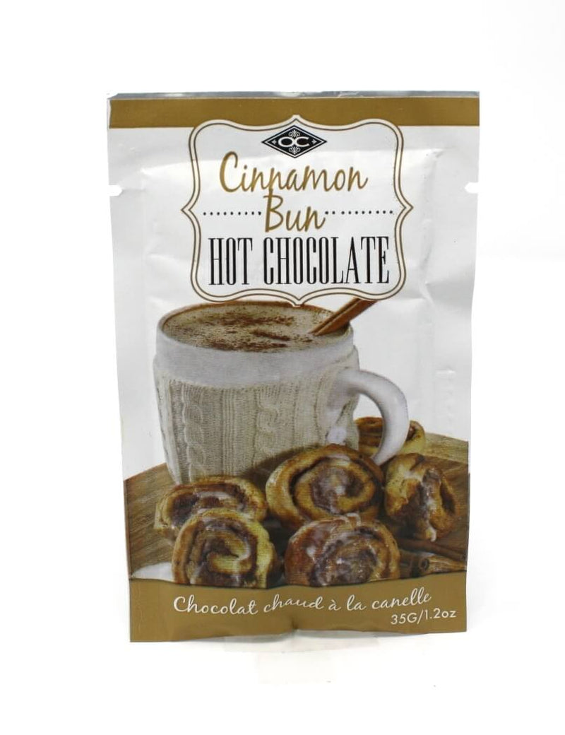 Single Serve Hot chocolate - Cinnamon Bun