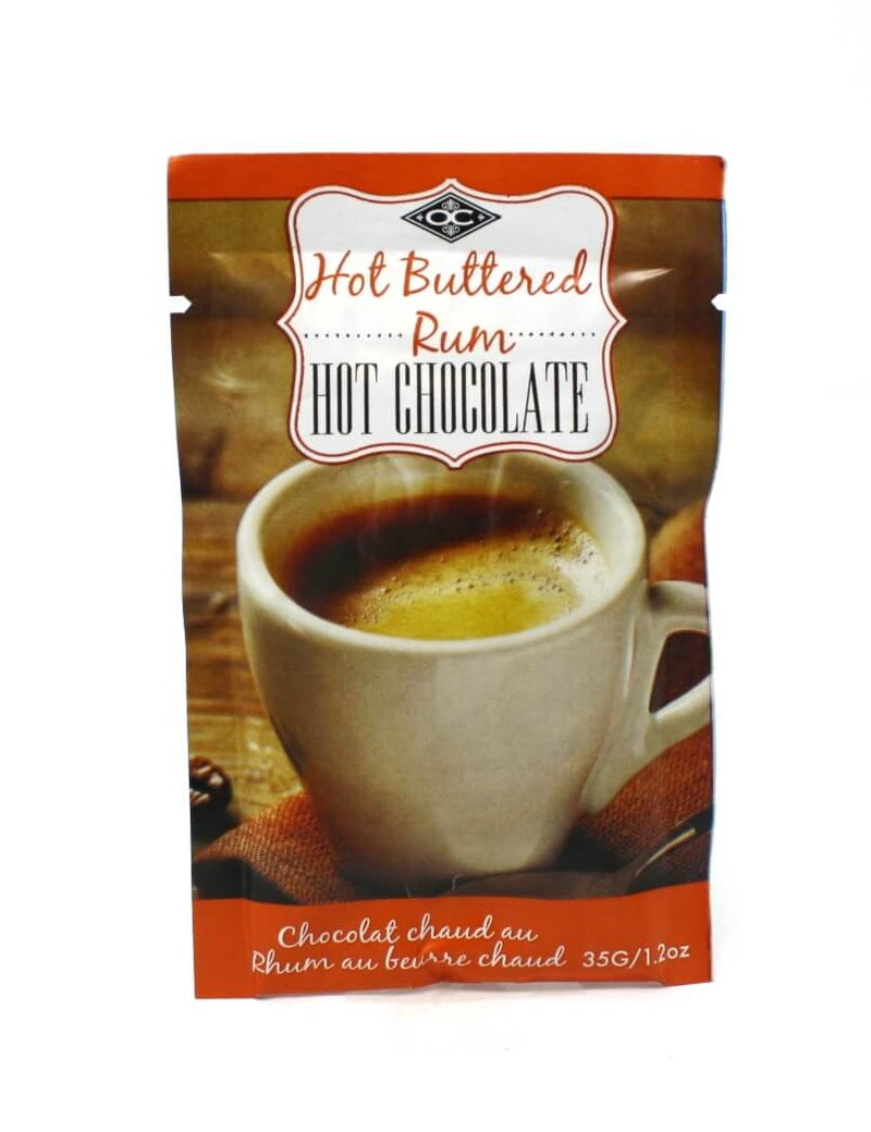 Single Serve Hot chocolate - Hot Buttered Rum