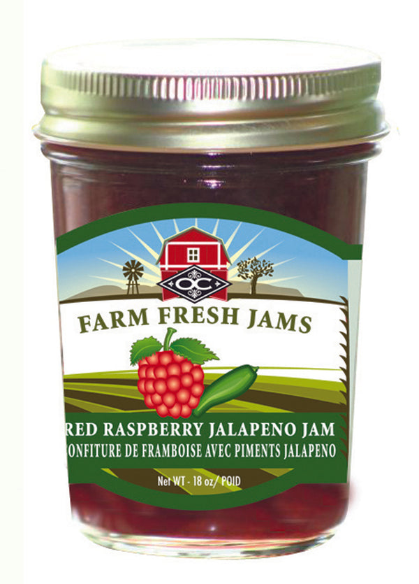 Red Rasberry Jalepeno Jam