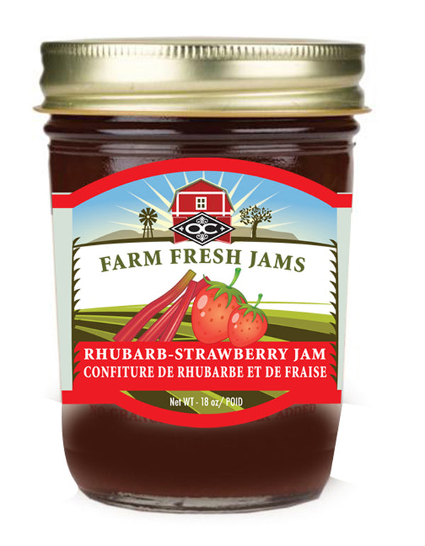 Rhubarb Strawberry Jam