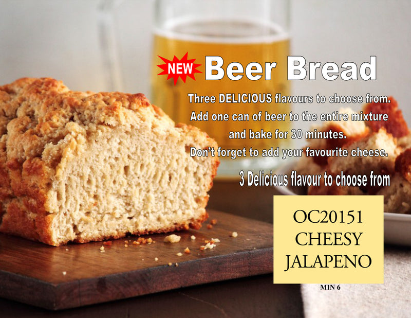 Beer Bread - Cheesy Jalepeno