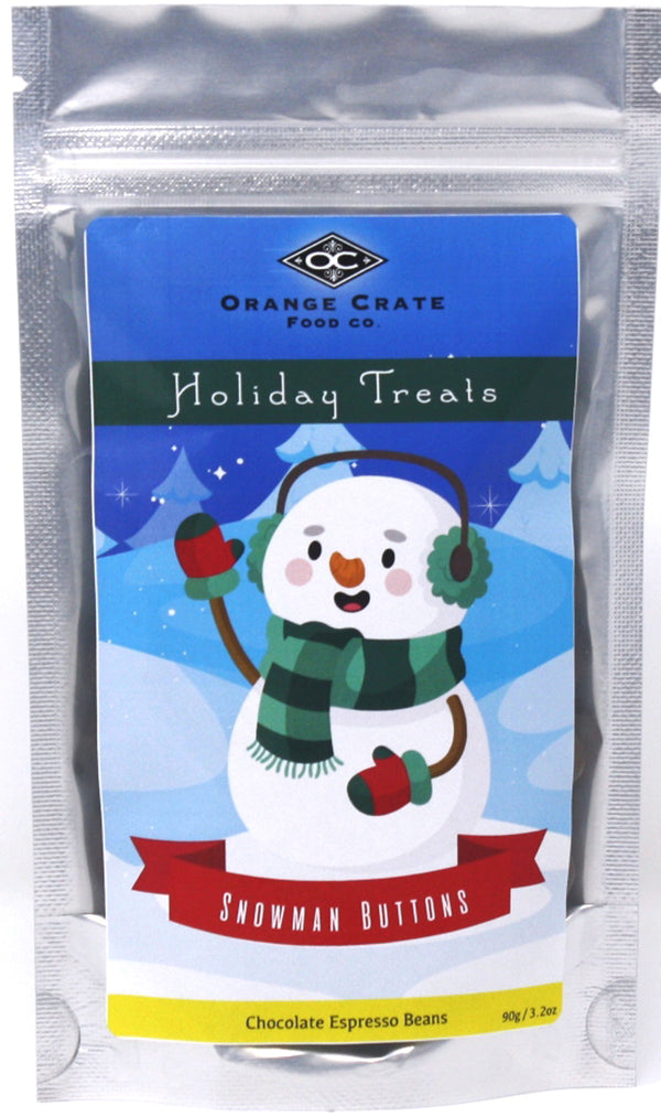 Holiday Treats - Snowman Buttons