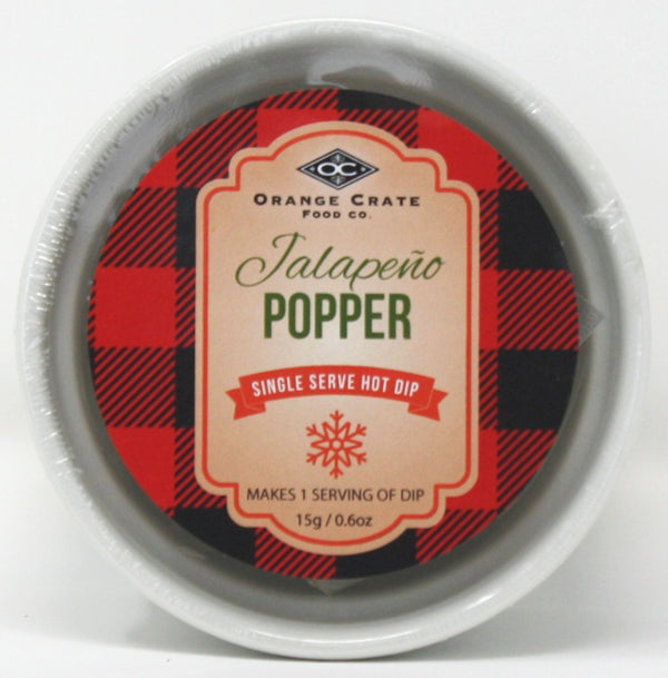 X - Jalepeno Popper Single Serve Cold Dip